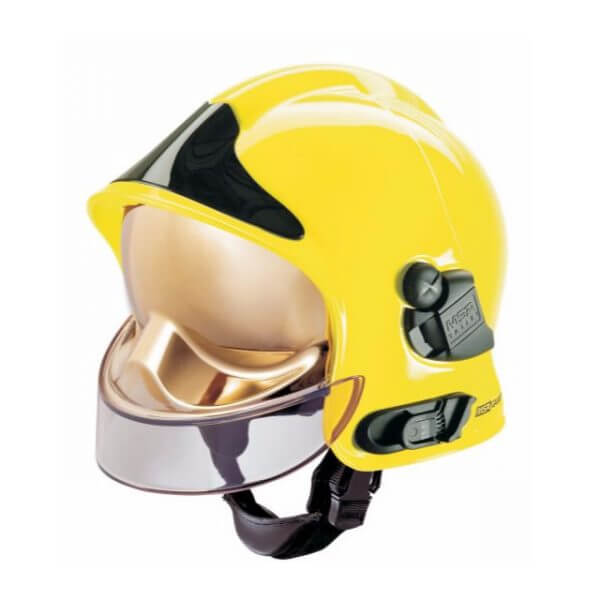 Gallet Professional Fire Fighters Helmet. - Click for more details