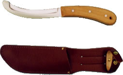 Quick Release Knife + Sheath - Click for more details